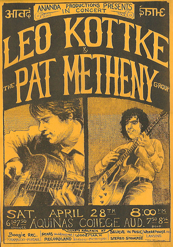 kottke_metheny_handbill